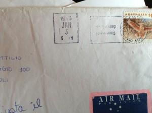 Letter from Australia, 1996