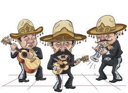 Mariachis y sombreros
