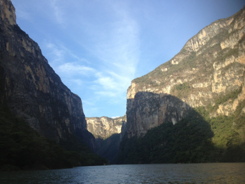 Canyon. Canon del Sumidero, Chiapas