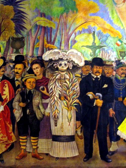 La Catrina de Diego Rivera